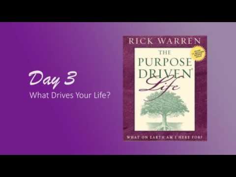 Purpose Driven Life Day 3