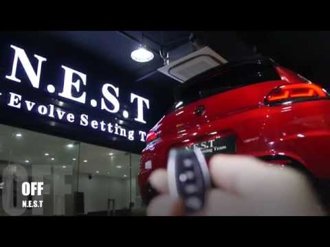 Volkswagen Scirocco R With Armytrix Performance Valvetronic Exhaust By N.E.S.T. Macau