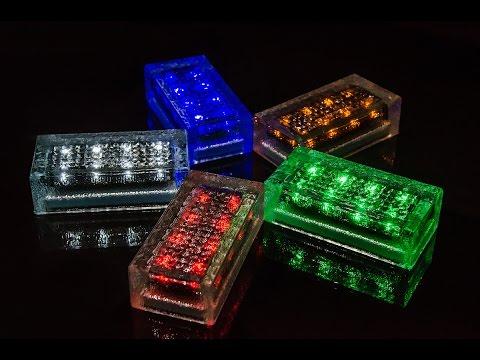 "Autonomus landscape solar battery lights ""Aqua Brand""®"
