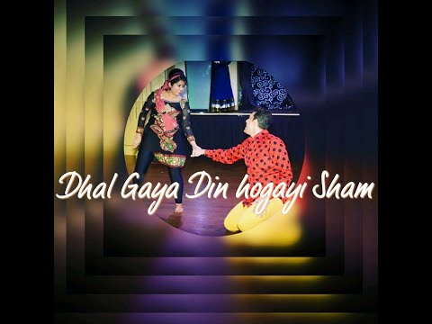 Dhal gaya din ho gayi shaam ,Dance performance By Pinky Dance choreography , Canada_Calgary