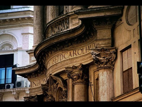 Places to see in ( Rome - Italy ) San Carlo alle Quattro Fon