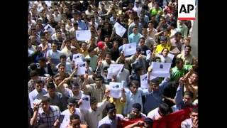 Amr Moussa comments on Rantisi killing, protests