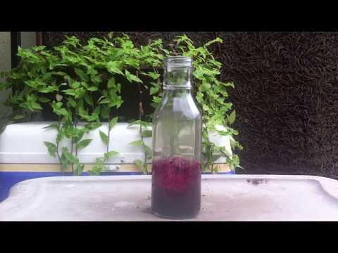 Combining Potassium Permanganate and weak Hydrogen Peroxide