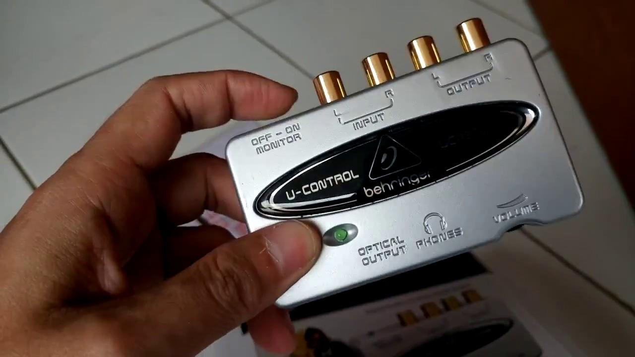 BEHRINGER FCA 202 F-CONTROL AUDIO DRIVER
