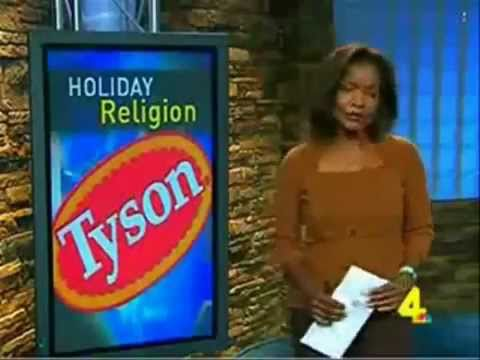 America's LARGEST TERRORIST CELL? TYSON FOODS, INC. MUSLIM Holy Day at American Plant?