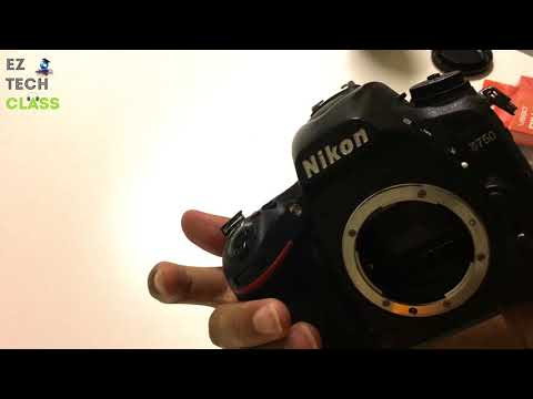 Clean your Nikon DSLR sensor and mirror - D750 sensor cleaning | EZ TECH CLASS