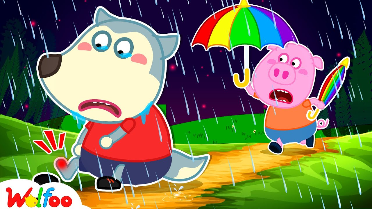 Download Wolfoo! Piggy Comes Here - Wolfoo Got a Boo Boo - Kids Stories About Wolfoo Friends   Wolfoo Family