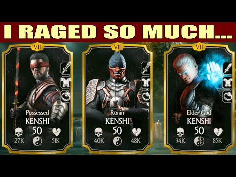 KENSHI TEAM. Can it beat FATAL BATTLE? Mortal Kombat X Mobile.