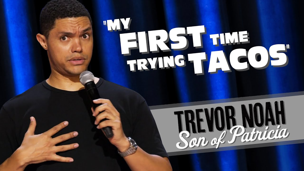 """Download """"My First Time Trying Tacos!"""" - TREVOR NOAH (watch Son Of Patricia on Netflix)"""