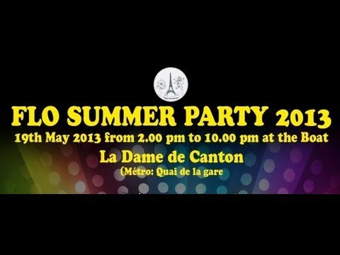 FLO SUMMER PARTY 2013