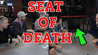 Poker Time: Johnnie Vibes and the SEAT OF DEATH