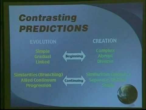 The Great debate creation vs evolution Dr. Patton vs john glenn