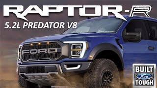 BREAKING NEWS: 2022 Ford Raptor-R  (760HP Supercharged 5.2L V8)