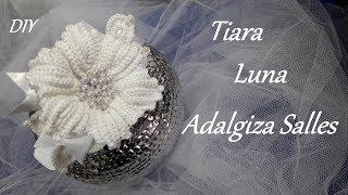 DIY – Tiara Luna – passo a passo por Adalgiza Salles