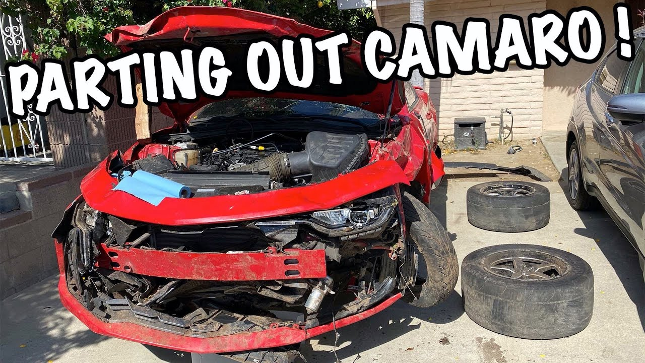 Parting Out My TOTALED 2019 Camaro SS !