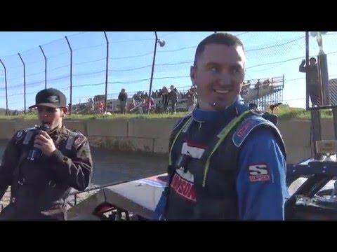 Brushcreek Motorsports Complex | 4.3.16 | Sunday Funday #1 | UMP Modifieds | Winner | Jeremy Rayburn