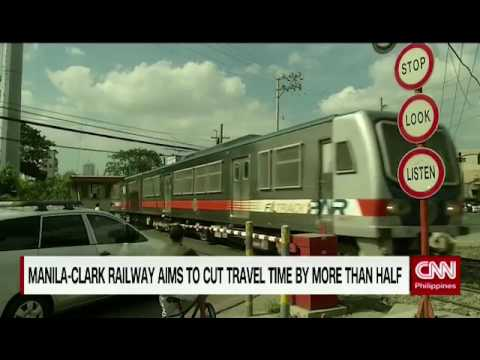 Manila-Clark Railway aims to cut travel time by more than half