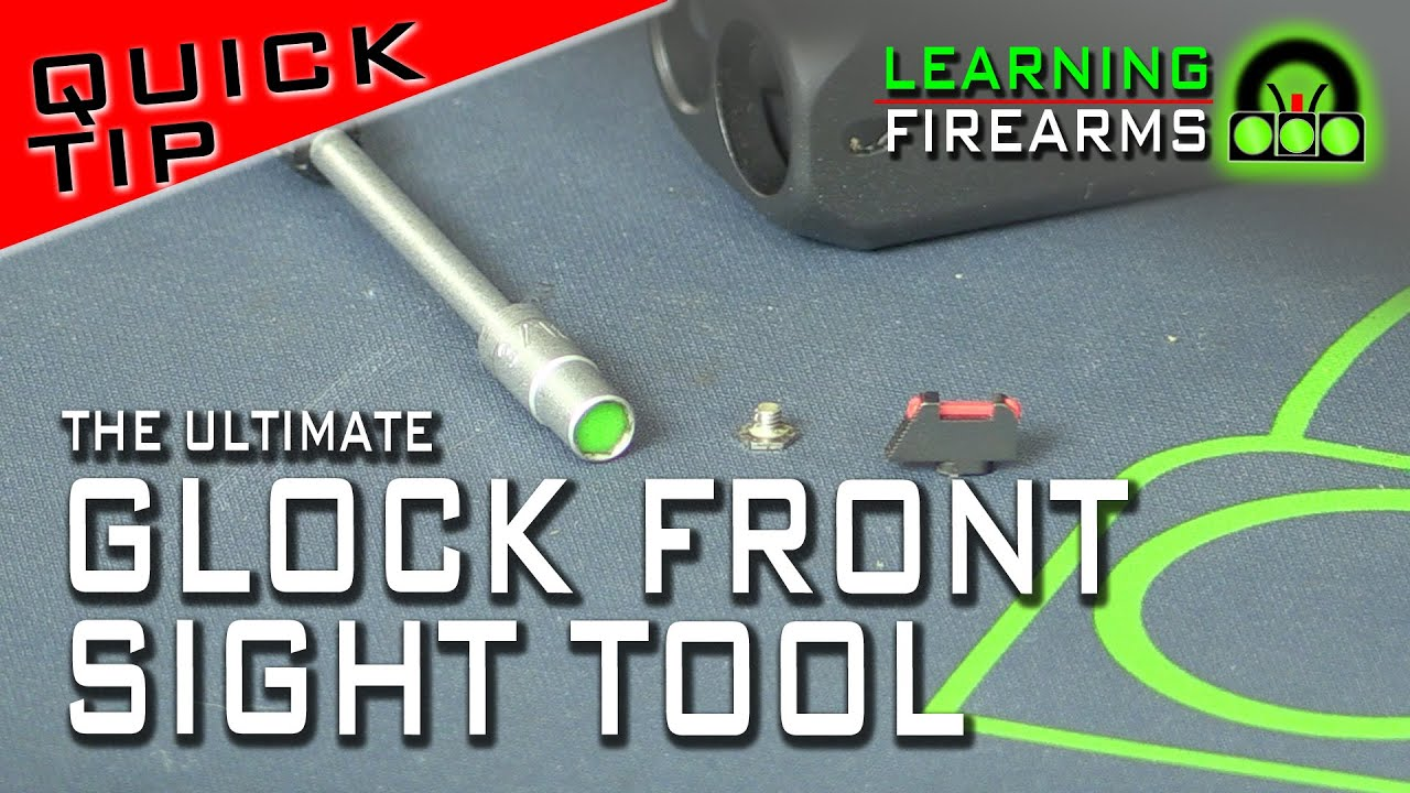 Quick Tip: Ultimate Glock Front Sight Tool