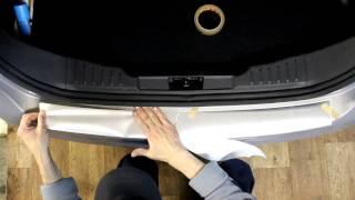 Наклейка на задний бампер для Ford Focus 3 (Форд Фокус 3)(седан)(Наклейка защищает бампер Ford Focus 3 (Форд Фокус 3)(седан) от царапин. Ссылка http://style45.ru/product_info.php/info/p1786_nakleika-na-zadnii-b..., 2015-02-14T06:39:36.000Z)
