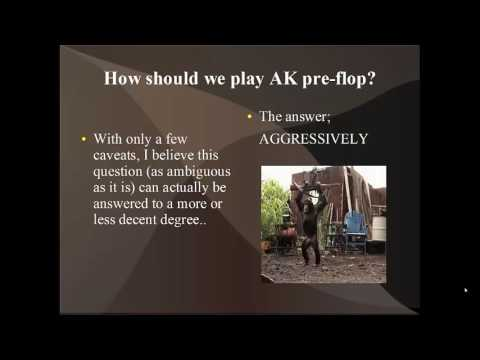 How To Play AK In NLH