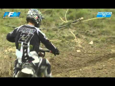 Chpt France Elite MX Pernes - Les essais