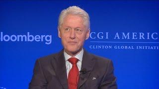 Bill Clinton Interview in Three Minutes