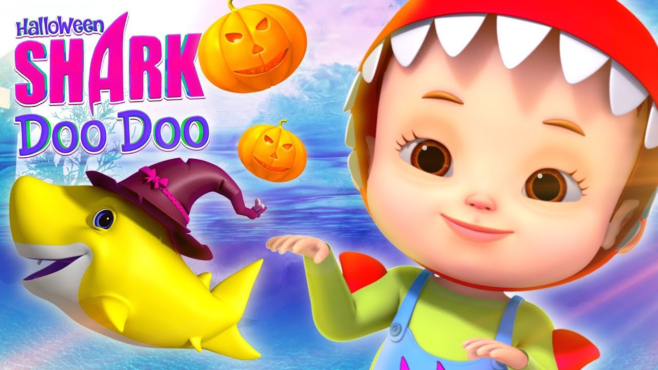Baby Shark Song - Halloween | Nursery Rhymes & Kids Songs | Baby Shark Dance For Kids