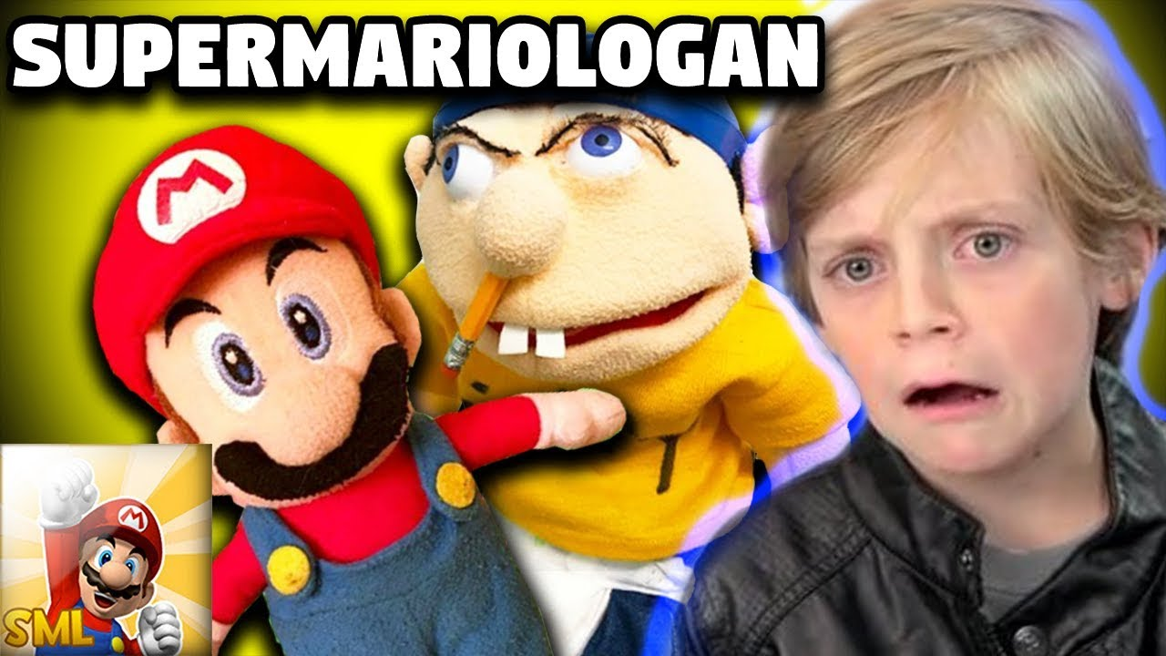 kids react to supermariologan youtube