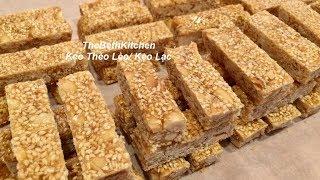 Cách làm Kẹo Thèo Lèo/ Kẹo Lạc công thức Tiếng Việt.