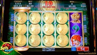 Fortunes Ablaze 200+ FREE SPINS !!! BIG WIN on  5c Konami Slots
