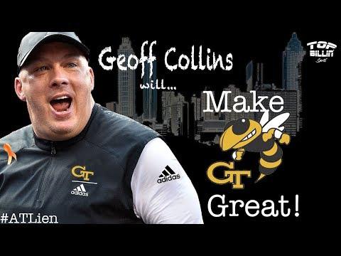 X&O's: Ga. Tech Football hit a HOMER hiring Geoff Collins!!