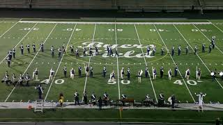Valley Forge Marching Band at Parma Band Spectacular 10/06/2018