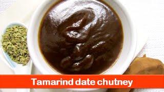 Date Tamarind Chutney Recipe/sweet Imli Chutney/tamarind Date Sauce/ Samosa Chutney-let's Be Foodie