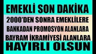 Erdoğan emekli için kesenin ağzını açtı! İntibak Yasası , Bayram İkramiyesine zam HAYIRLI OLSUN