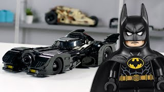 LEGO 1989 Batmobile Designer Video | Exclusive LEGO Minifigures | 76139