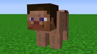 Minecraft   Cursed Images 03 (Steve..?)