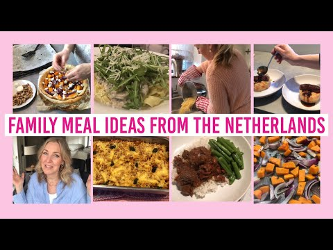 FAMILY MEALS 2020 / WHAT'S FOR DINNER? / DUTCH MOM