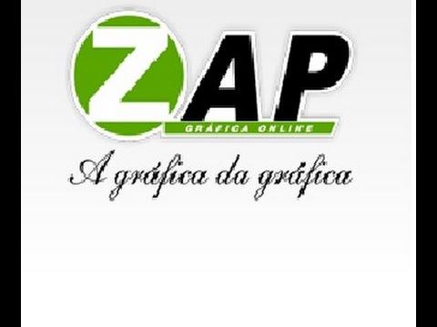 46f823f9612 Cadastro na Zap Gráfica - YouTube