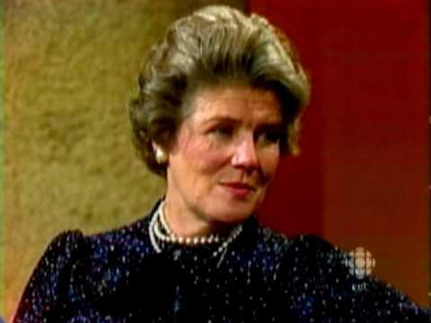 Winston Churchill's daughter, 1979: CBC Archives   CBC