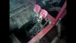 budowa traktorka sam 4x4 od zera --