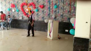 Download Hindi Video Songs - Swag mera desi | live performance| Rapper $@TI$H | Skyline college cse farewell |