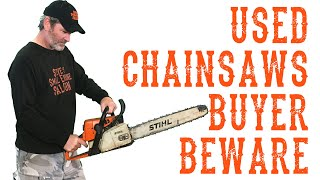 Important Things to Check Before You Buy a Used ChainSaw - Video