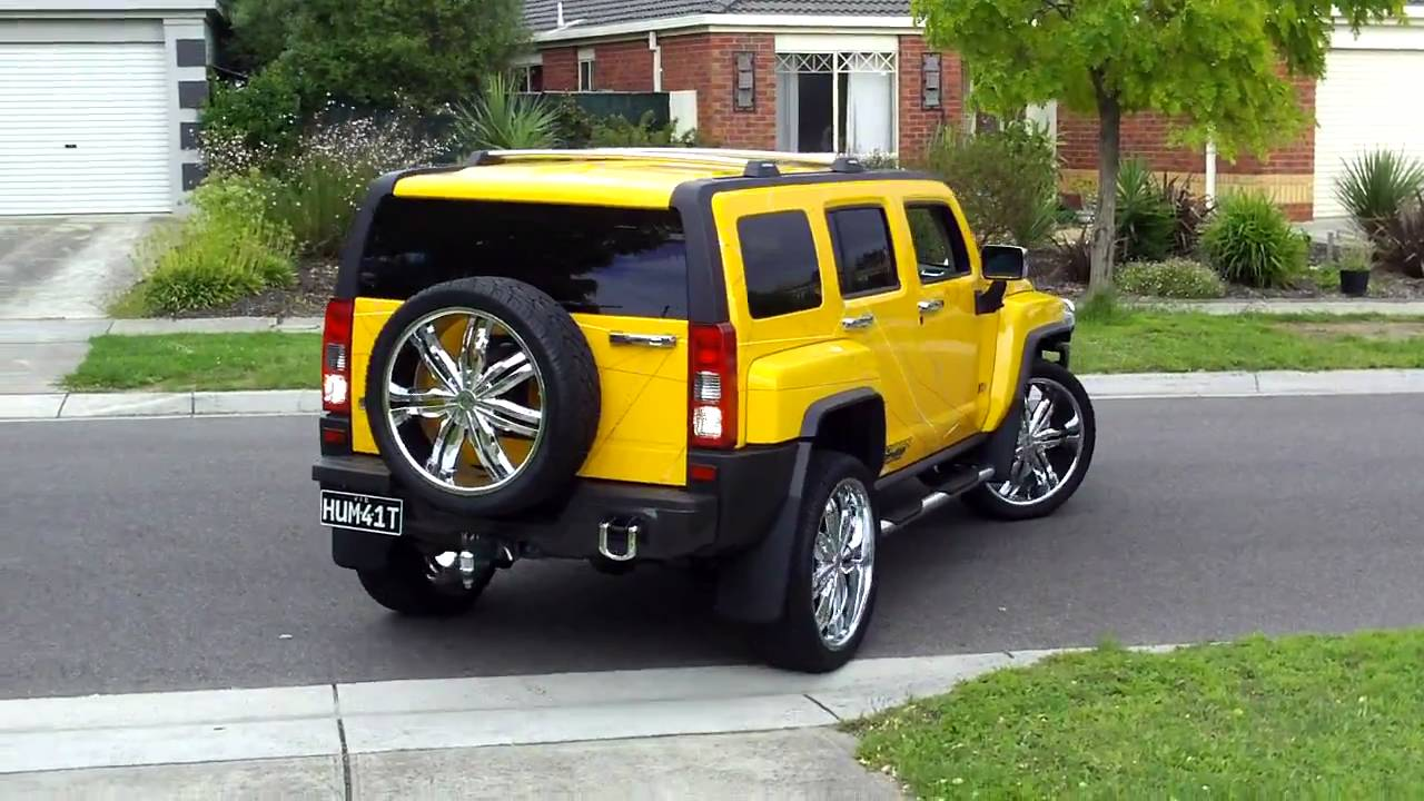Custom 07 Hummer H3 Pulling In Youtube
