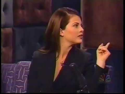 Yasmine Bleeth on Conan 19961226