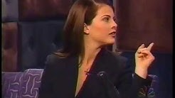 Yasmine Bleeth on Conan (1996-12-26)