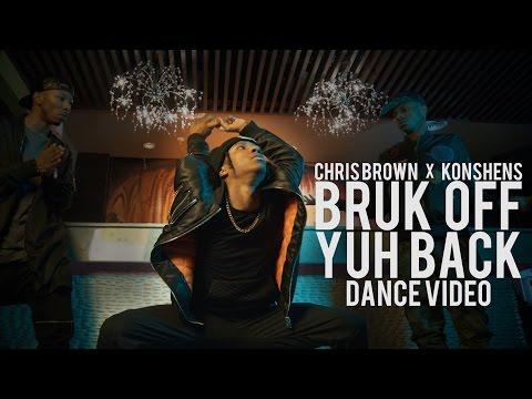 Chris Brown x Konshens - Bruk Off Yuh Back (Official Dance Music Video)   Bone Breaking Contortion