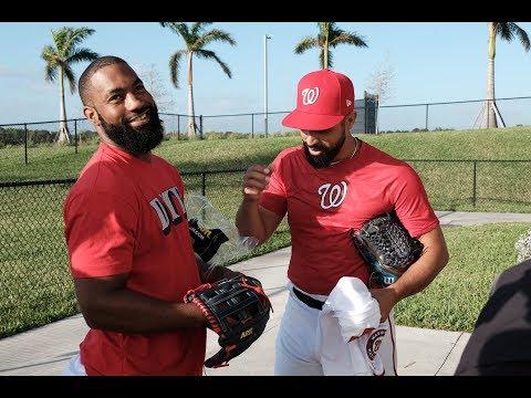 2018 Wilson Glove Day: Washington Nationals