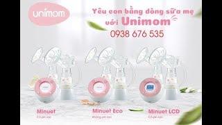 Máy hút sữa Unimom Minuet cho mẹ bận rộn