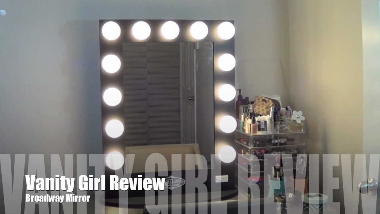 71. REVIEW: Vanity Girl Hollywood Mirror - YouTube