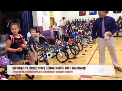 Bama, Rob & Heather - C'mon Get Happy: Elementary School Raises $$ For Bikes For Fellow Students